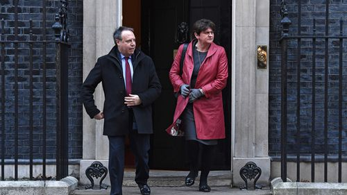 The drubbing was followed by a no-confidence vote in the government, but Ms May's minority Conservative government survived it on Wednesday night with backing from its Northern Irish ally, the Democratic Unionist Party.