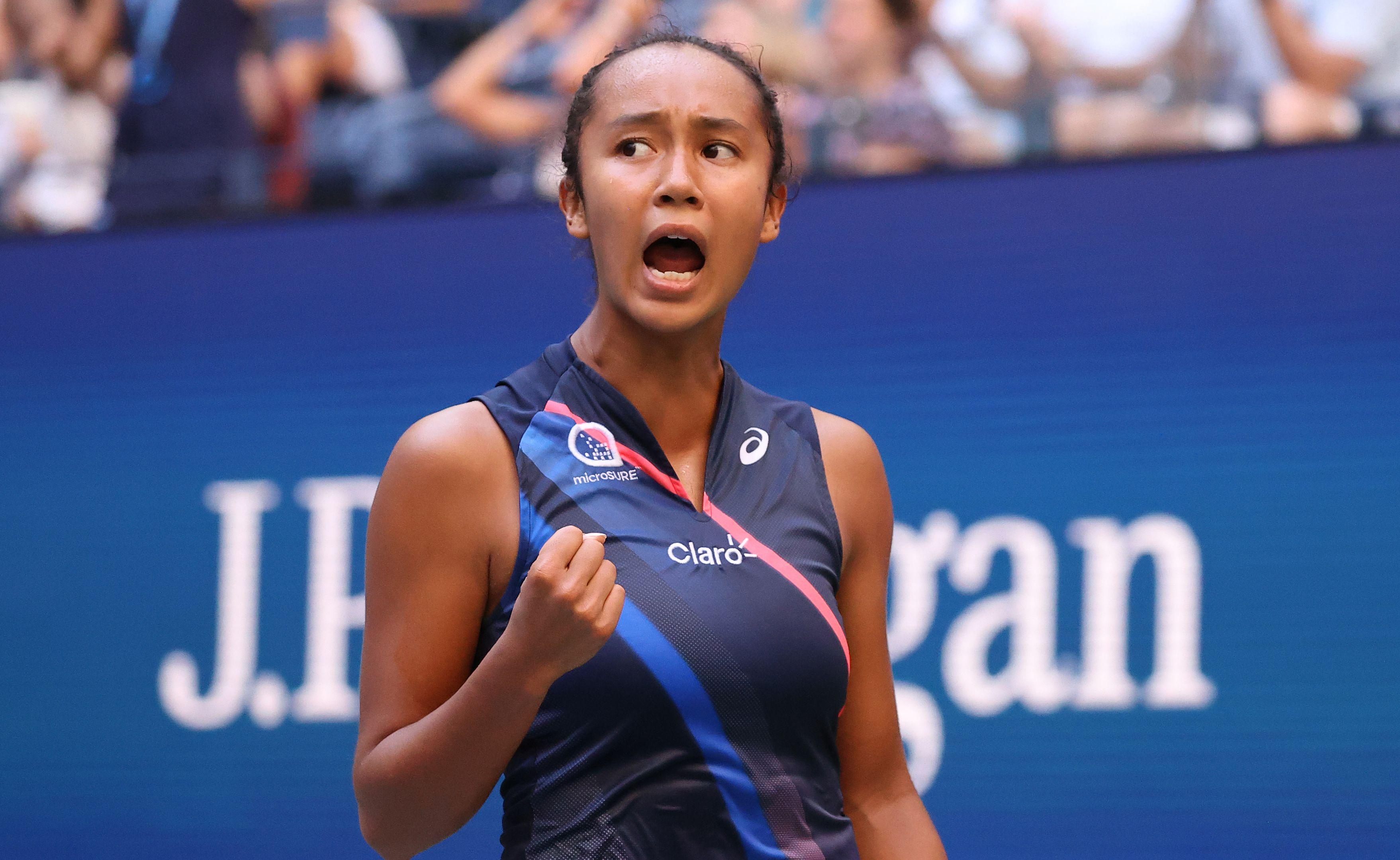 US tennis great Pam Shriver accuses Leylah Fernandez's team of coaching in US Open semi-final
