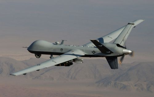 A US Air Force MQ-9 Reaper drone, one of the fast-evolving autonomous lethal weapons.