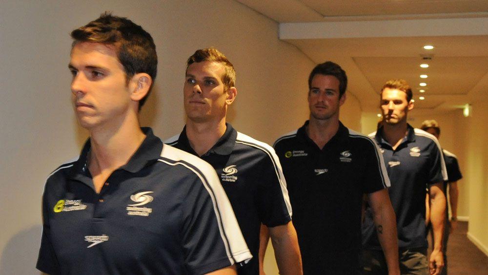 No looking back: Australian swimmers