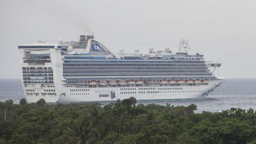 "The Caribbean Princess, carrying more than 4000 people was denied entry to Trinidad and Tobago because of the ""significant outbreak"" of gastro."