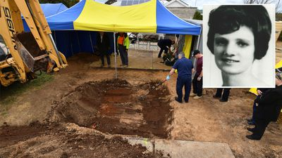 It's her! Police uncover remains of mum Colleen Adams missing 45 years
