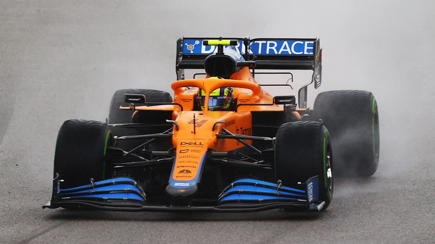 Alfa Romeo team questions why Lando Norris wasn't penalised for 'crystal clear' breach of the rules in Russia