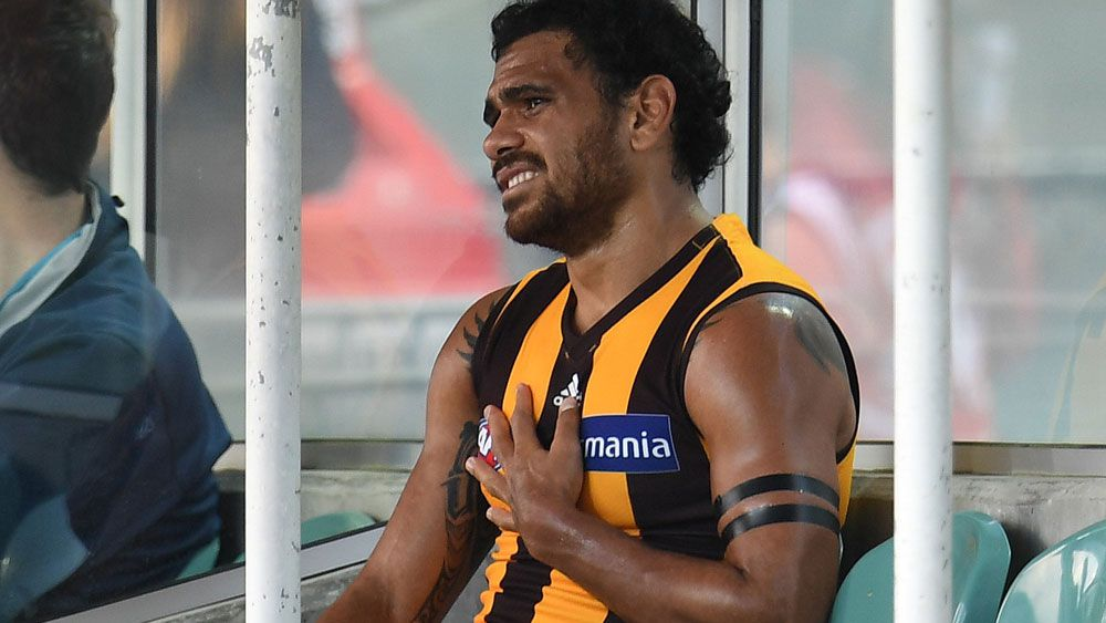 Hawthorn forward Cyril Rioli granted leave by Hawthorn to spend time with ill father