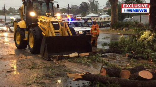 The wild weather struck the Gold Coast, Noosa and parts of Gympie, Scenic Rim, Redland City and the Sunshine Coast yesterday afternoon.