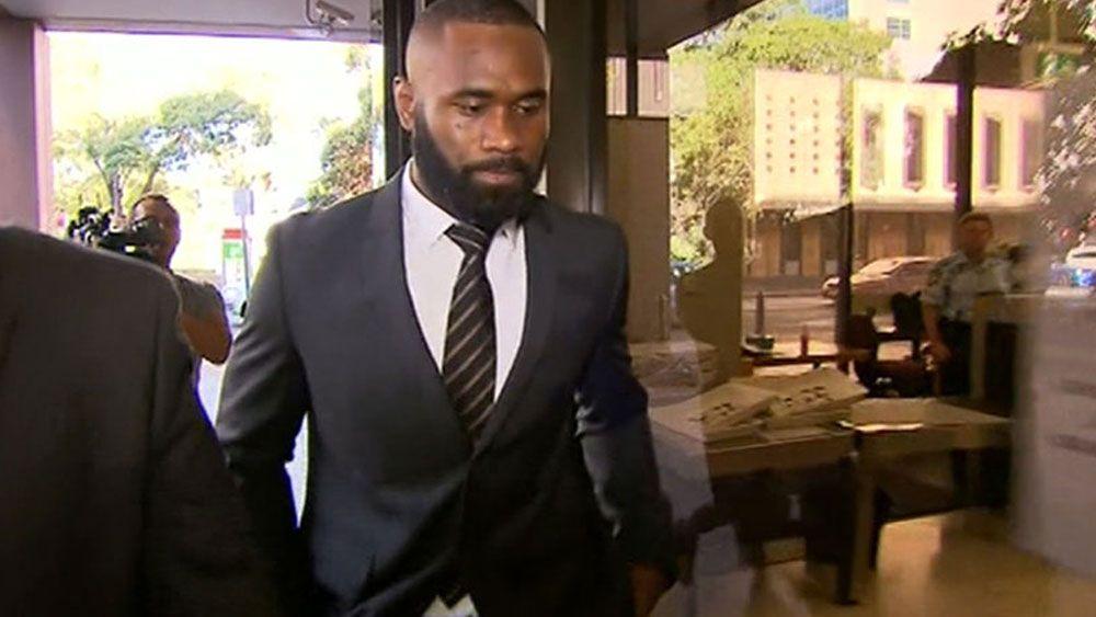 Parramatta winger Semi Radradra appeared in court on Monday. (Channel Nine)