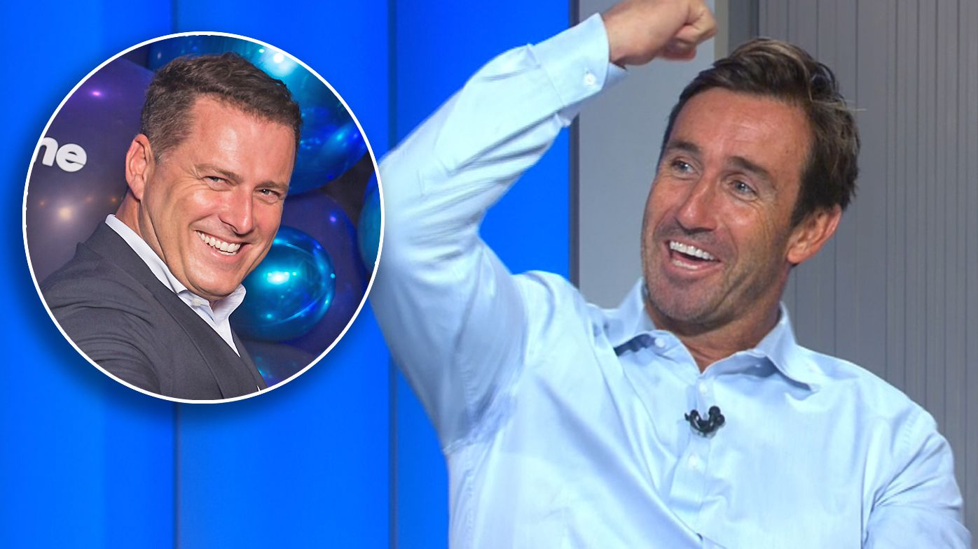 Andrew Johns sledges Karl Stefanovic