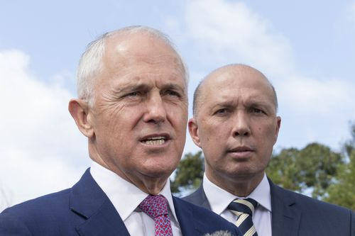 Home Affairs Minister Peter Dutton has shot down reports that he is considering taking a tilt at the coalition leadership.