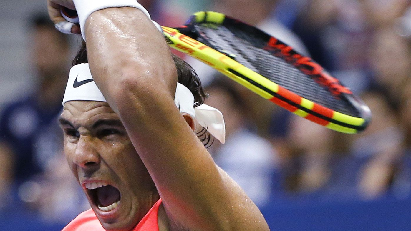Ash Barty surges into final 16 at US Open