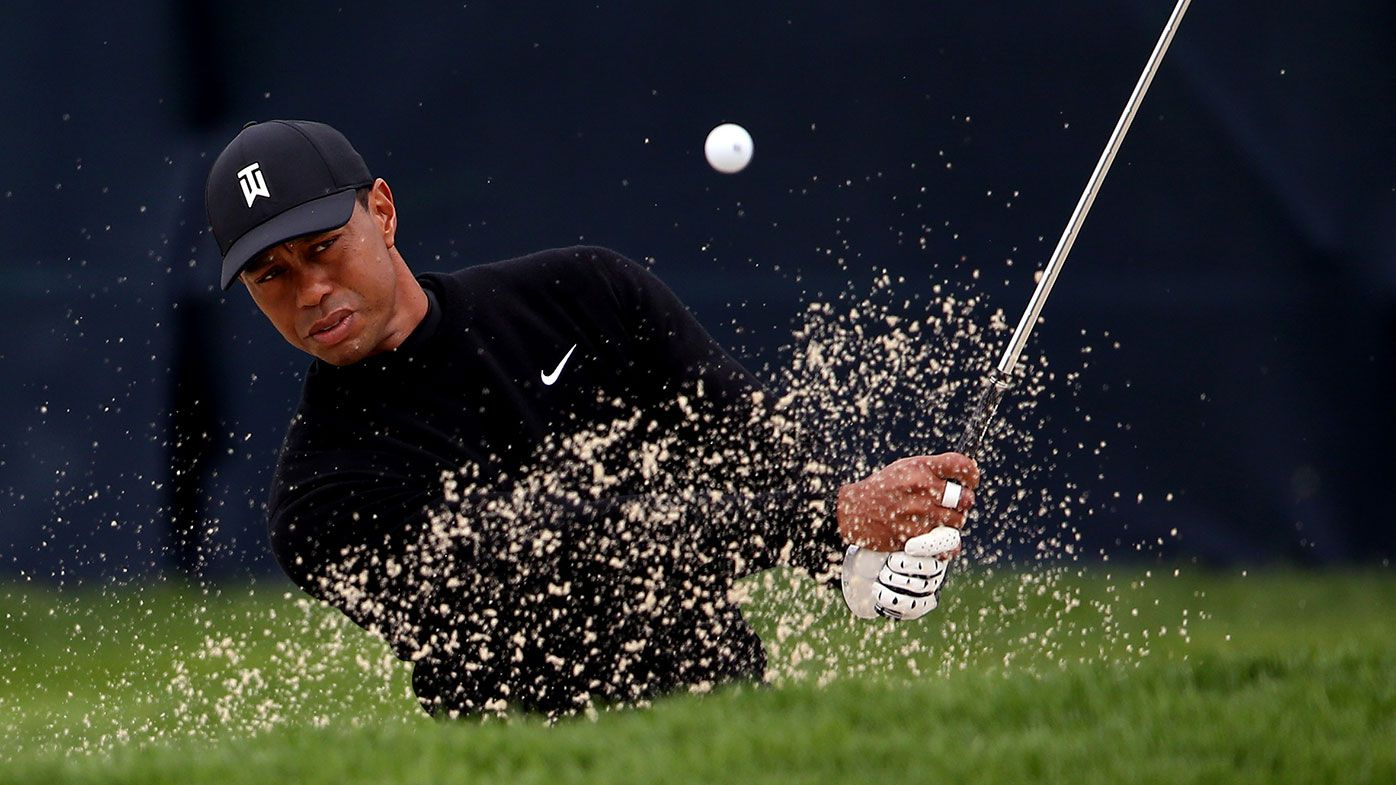Tiger Woods prepares for this week's US PGA.