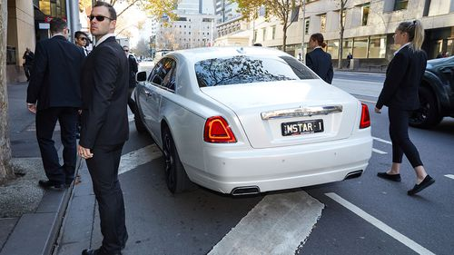 Yoa claimed he'd borrowed the cars from Mick Gatto.