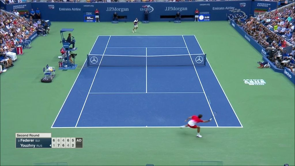 Match point: Federer vs Youzhny