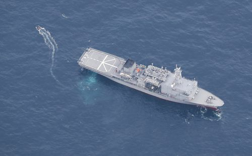 One dead, five missing after US warplanes collide mid-air off Japan