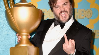January 12, 2014: Jack Black attends HBO's Post 2015 Golden Globe Awards Party at Circa 55 Restaurant.  <br><br> Photo by Frazer Harrison, Getty Images.