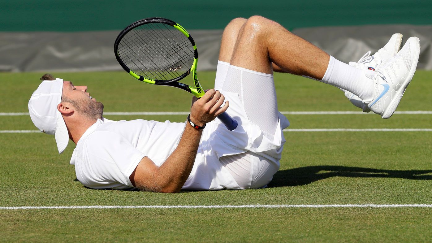 Wimbledon: Jack Sock delivers bitter final words after crashing out of first-round