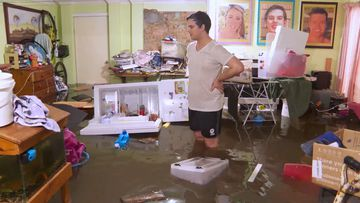 NSW South Coast homes flooded