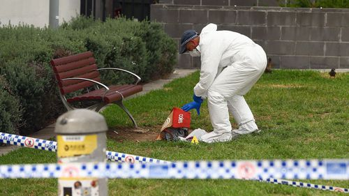 Klaus Petr was stabbed to death in what police allege was a random attack near Hurstville Train Station. (Image: AAP)