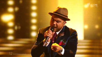 Guy Sebastian rocked the stage at the Eurovision Song Contest in Vienna. Click through our gallery to see the highlights of this year's competition. (SBS)
