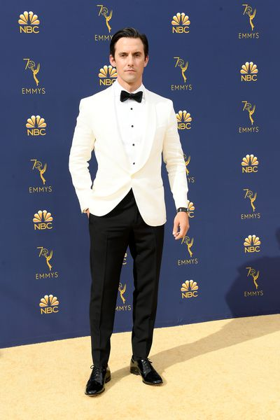 <em>This is Us</em> star&nbsp;Milo Ventimiglia at the 70th Annual Emmy Awards