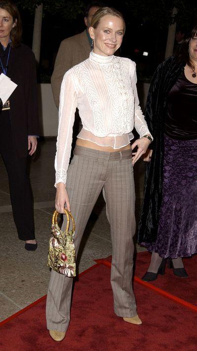 Naomi Watts: Then...