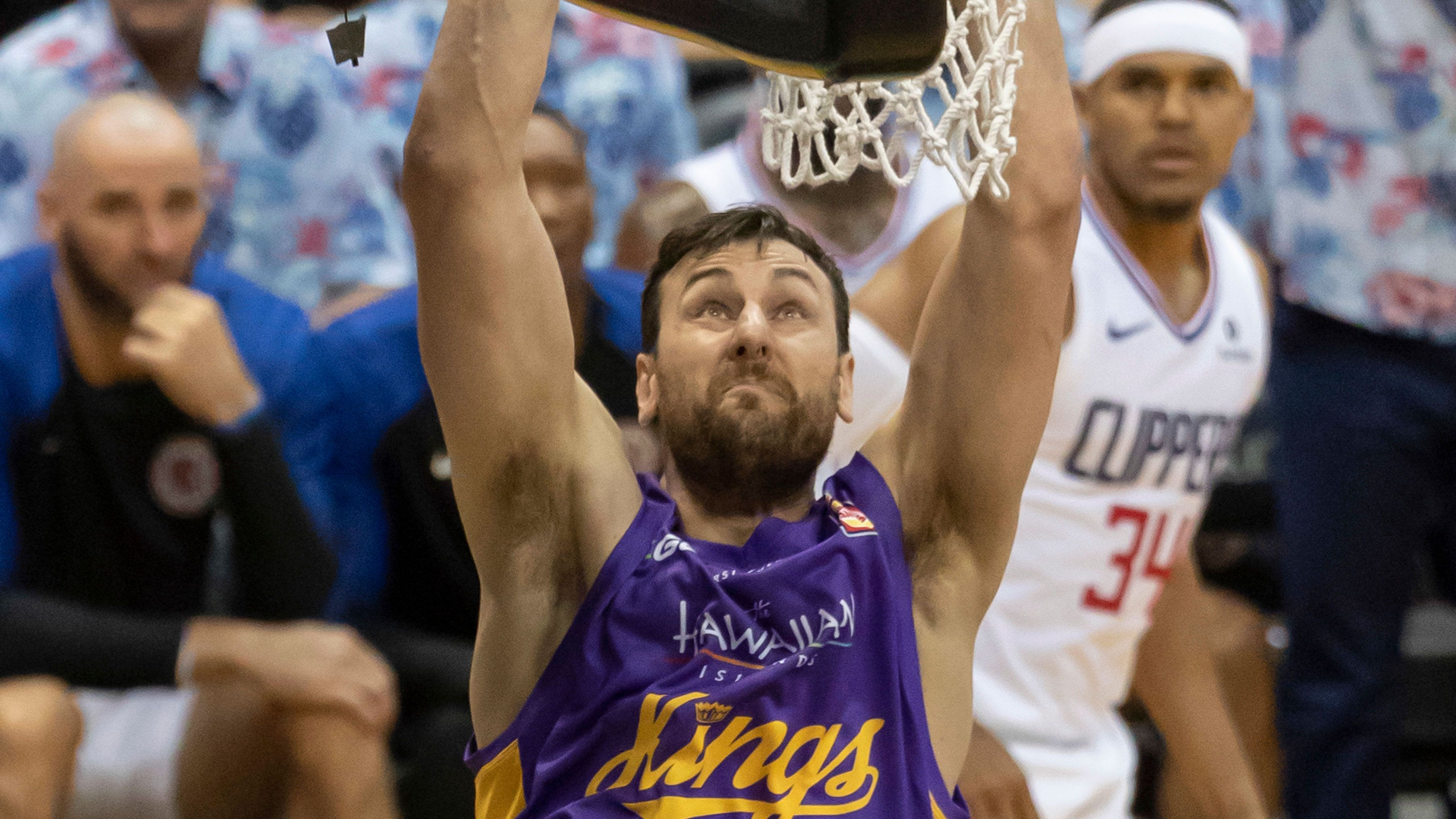 Sydney Kings star Andrew Bogut.