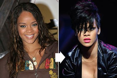 When Rihanna cut her hair, she said it gave her the confidence to be herself.