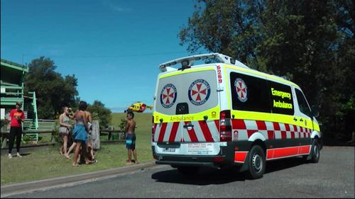 A man has died after being found face down in the water at Pretty Beach, north of Batemans Bay on the NSW Far South Coast today (Supplied).