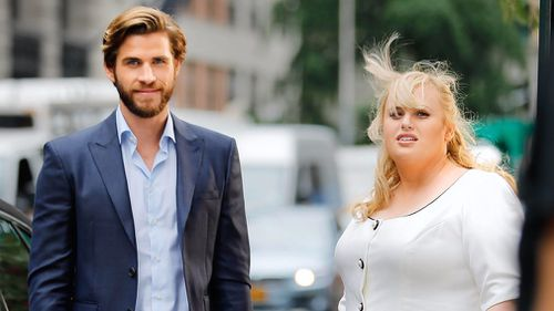 Ms Wilson is currently filming with Liam Hemsworth in London.