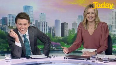 Karl Stefanovic prepares birthday surprise for Ally Langdon