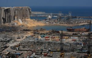 Lebanon president says he knew of chemicals at port in July