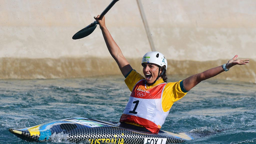 Fox snares bronze in women's kayak slalom