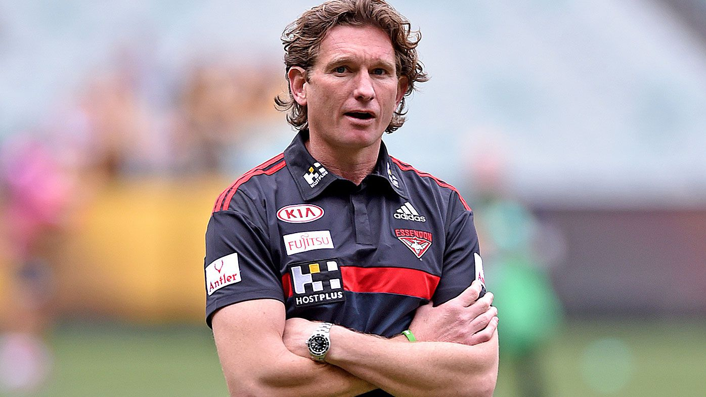 James Hird in 'talks' with AFL clubs keen to recruit former Bombers coach: report