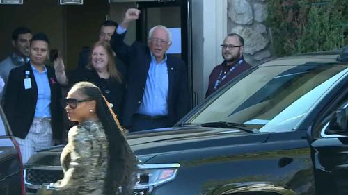 Bernie Sanders is now out of hospital after suffering a heart attack.