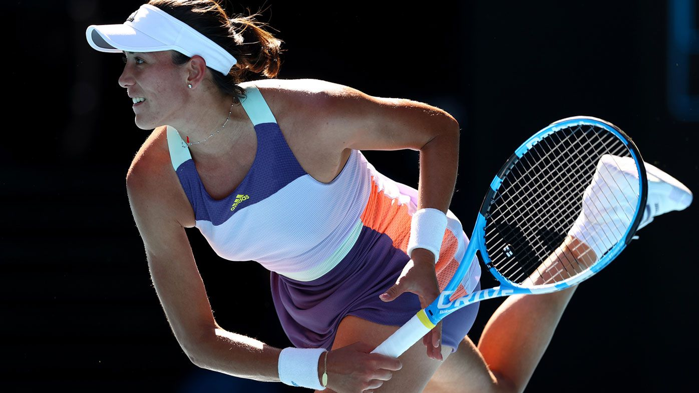 Garbine Muguruza signals return to form to reach Australian Open final after thriller against Simona Halep