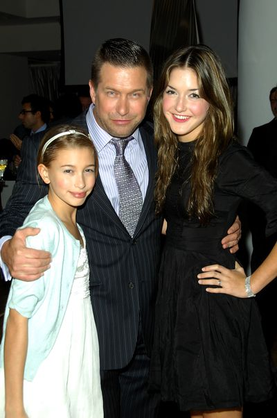 <p>See Hailey Baldwin's spectacular fashion evolution here.</p> <p>Hailey Baldwin and her parents Stephen Baldwin and Alia Baldwin at the <em>Into the Light</em> exhibition opening in New York, November 20, 2008.</p>