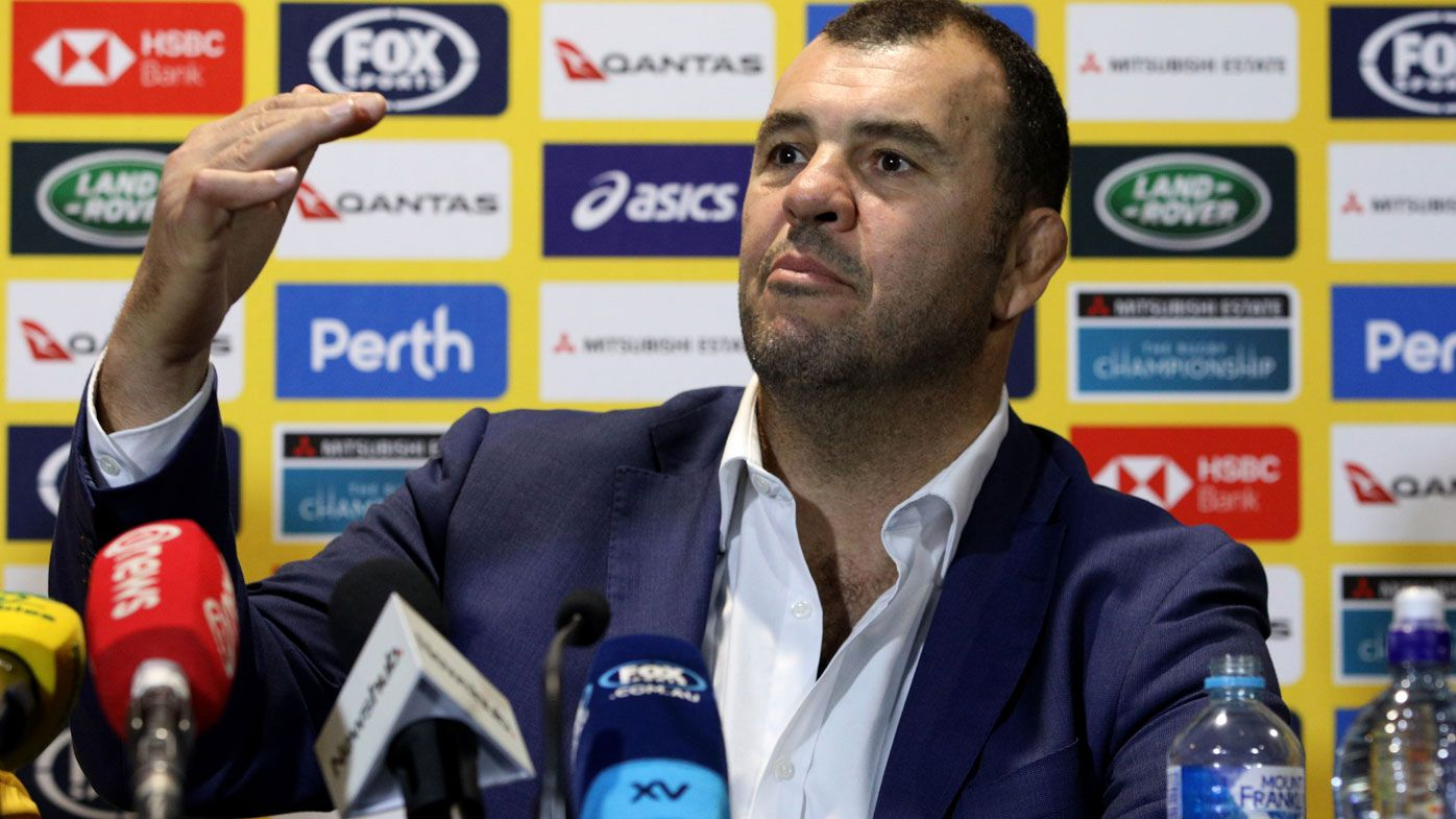 Michael Cheika restrained after Wallabies' thumping victory over All Blacks
