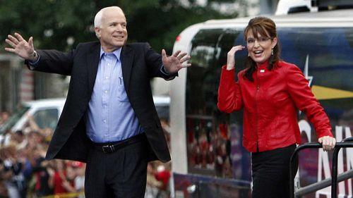John McCain and Sarah Palin in 2008.