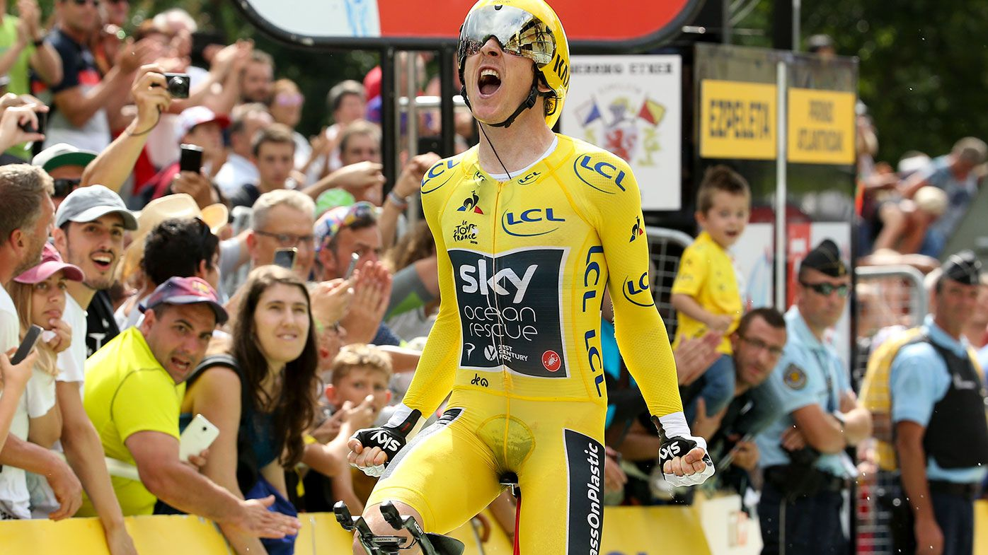 Tour de France victory awaits teary Thomas