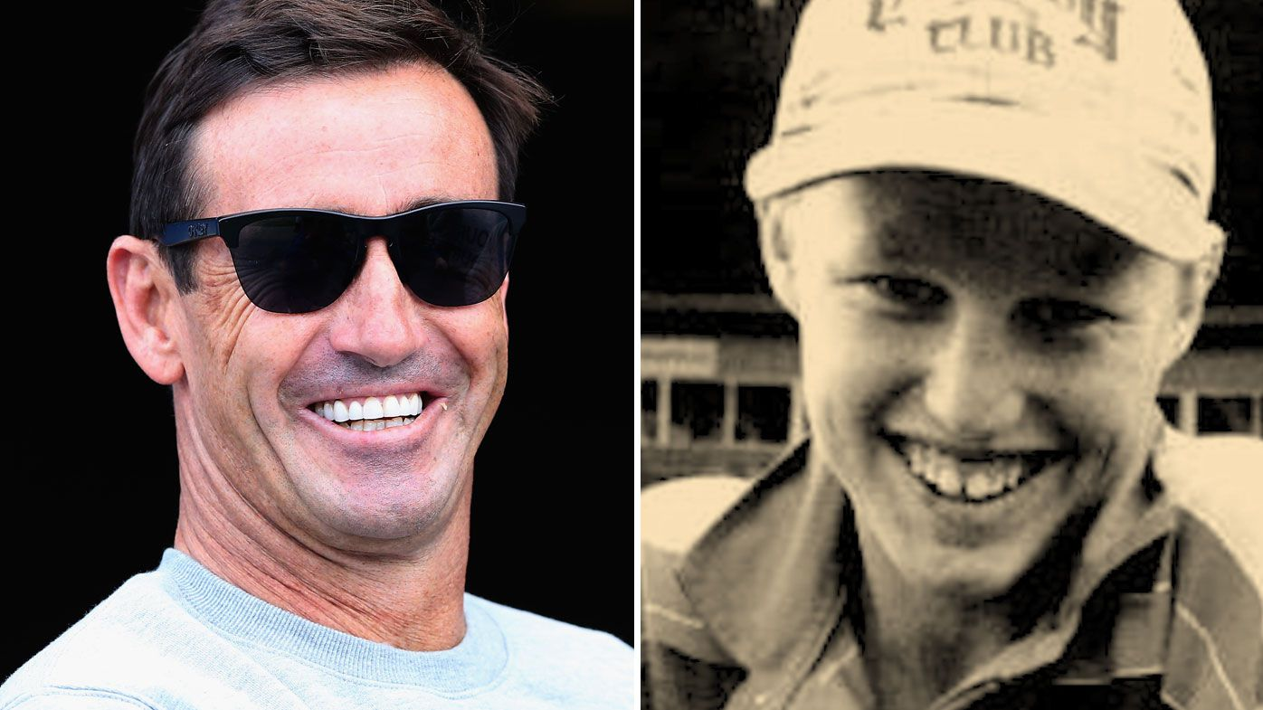 Andrew Johns recalls the sledging he'd cop from a young Brett Finch.