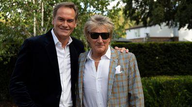 Rod Stewart interview on 60 Minutes Australia - 9Celebrity