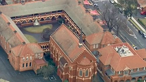 Scotch College has been evacuated after a possible bomb threat. (9NEWS)