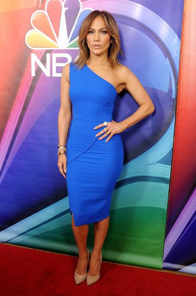 Actress and singer Jennifer Lopez at the 2016 NBCUniversal  TCA Press Tour in California, January, 2016