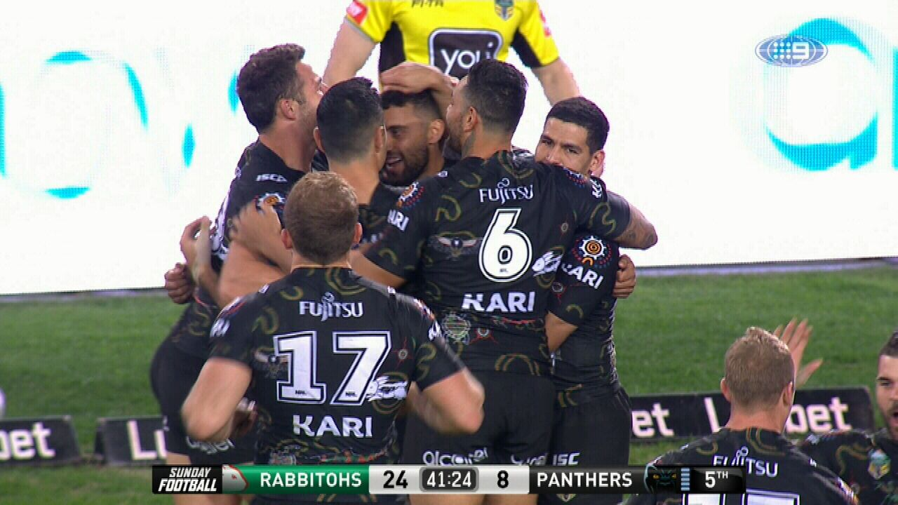 Johnston equals club record with five tries