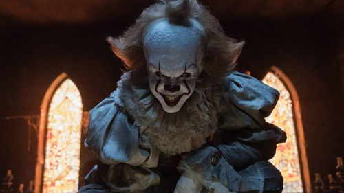 The movie features a character called Pennywise who often takes the appearance of clown. (IT Movie)