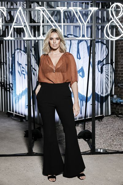 Bree Warren at the Tiffany & Co. HardWare launch, Carriageworks, Sydney.
