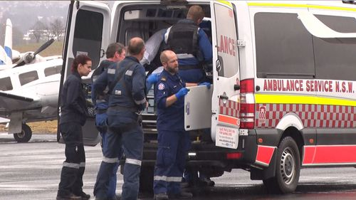 A boy, aged 15, was shot in the back in what police believe was a hunting accident in regional NSW at the weekend.