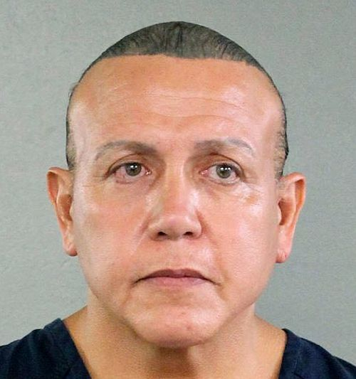 The suspect, identified as Cesar Sayoc, 56, was arrested in the city of Plantation in the Miami area and is currently in FBI custody.