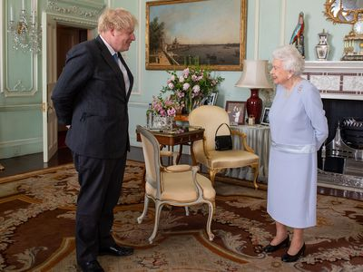 The Queen meets with UK Prime Minister Boris Johnson, June