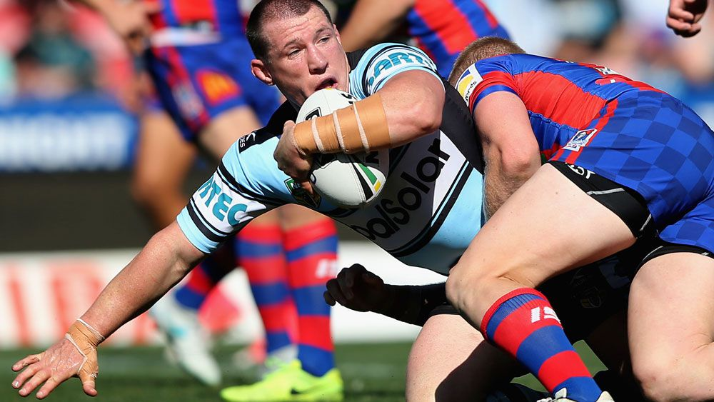 Cronulla Sharks warm up for NRL finals with scrappy win over Newcastle Knights