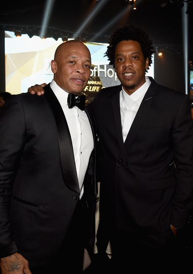 Dr Dre and Jay-Z